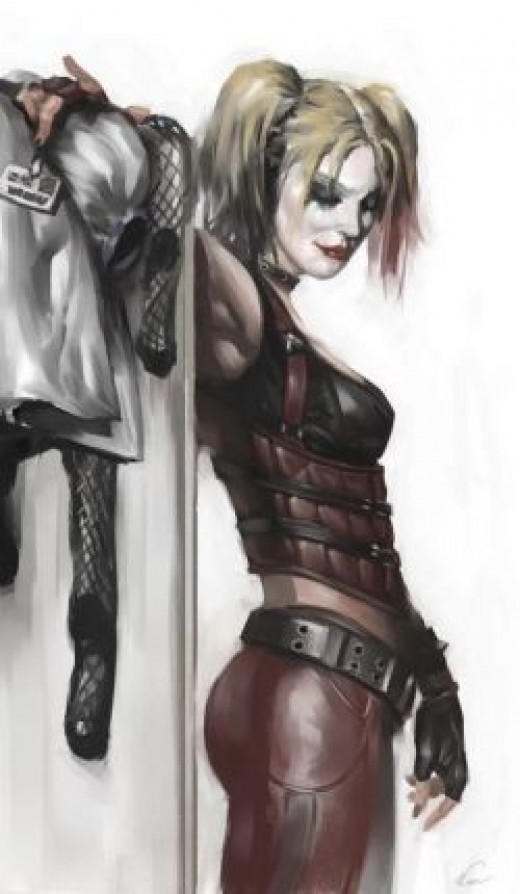 Harley Quinzel, concept art