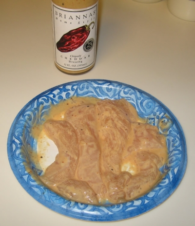 This is the marinating chicken breast.