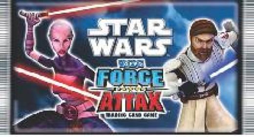 Star Wars Force Attax at BSTS