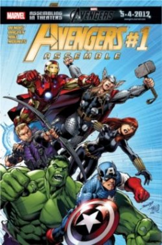 Cover of Avengers Assemble #1 (2012)