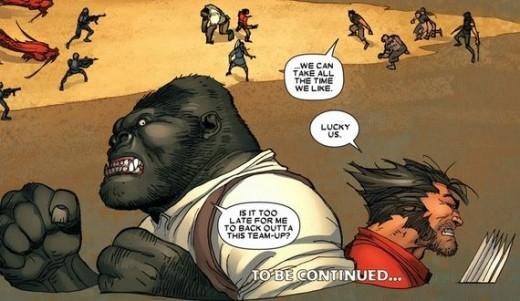 Wolverine #17 (2011), excerpt