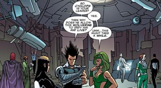 X-Men Legacy #259, excerpt. X-Men Regenesis
