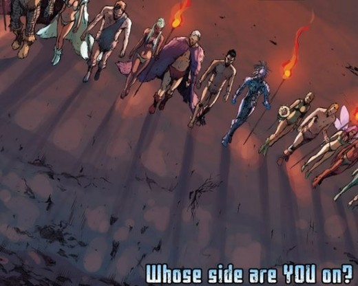X-Men Regenesis: Choose a side