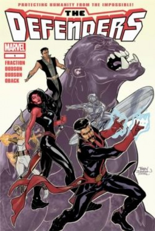 The Defenders #1 (2012), cover