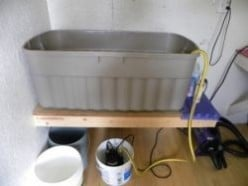 How to build your own recirculating bathing system for bathing your dog