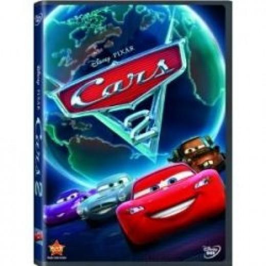 Cars 2 top animated movie 2011