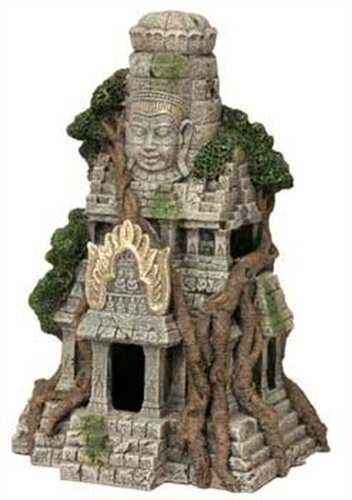 Blue Ribbon Cambodian Temple Ruins Aquarium Ornament