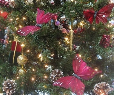 butterfly Christmas Tree
