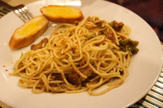 Bicol Express Pasta - a local favorite with a twist