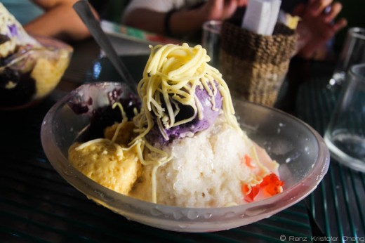 The special halo-halo of DJC in Legazpi