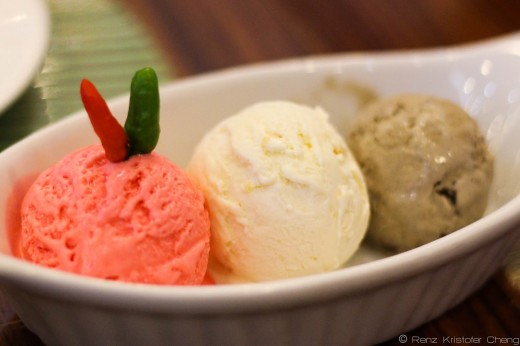 The Sili Ice Cream together with 2 other unique flavors!
