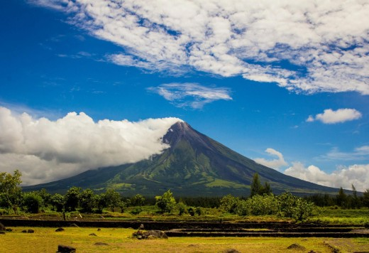 The Mayon Volcano in Albay, Bicol, Philippines