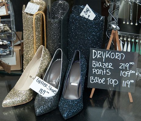 Glitter Purse and shoes