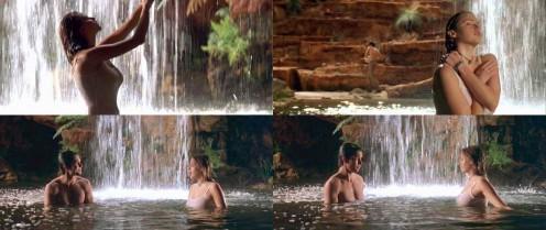 Estella Warren's water scene in Kangaroo Jack