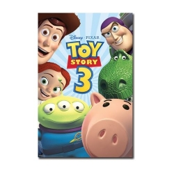 Toy Story 3 character poster Woody Buzz T Rex Hamm