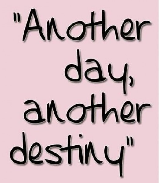new day new destiny
