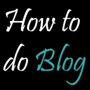 How to do blog profile image