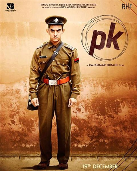 Aamir Khan posed nude for the first poster of PK with nothing but a transistor covering his assets. But this time the actor is seen in a police officer's uniform with his radio by his side.View pics on Biscoot Showtym.