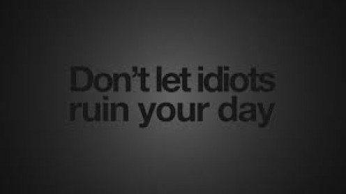 Don't let anyone ruin your good day.
