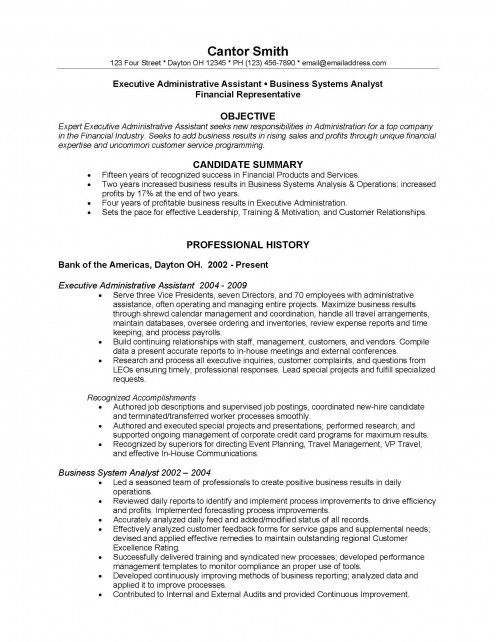 Transfer college resume