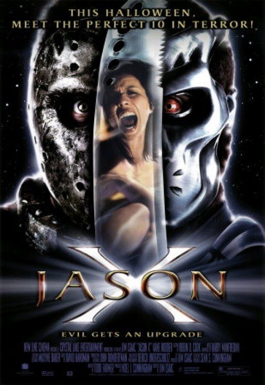 the futuristic variation of the killer in Jason X