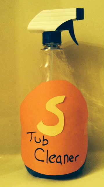 Super tub cleaner to the rescue!!