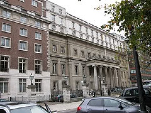 The Royal College of Surgeons, which houses the Hunterian Museum