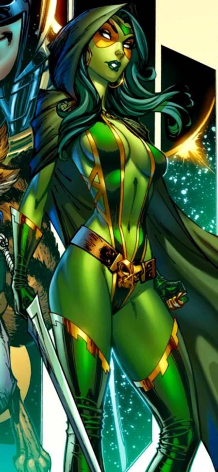Gamora Questing Costume