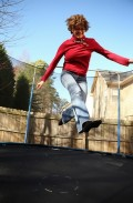 The Benefits of Jumping on a Trampoline!