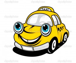Beware the big yellow taxi - you never know what it might take away