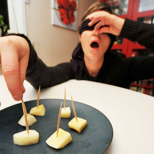 Apples and pears taste the same when smell is eliminated