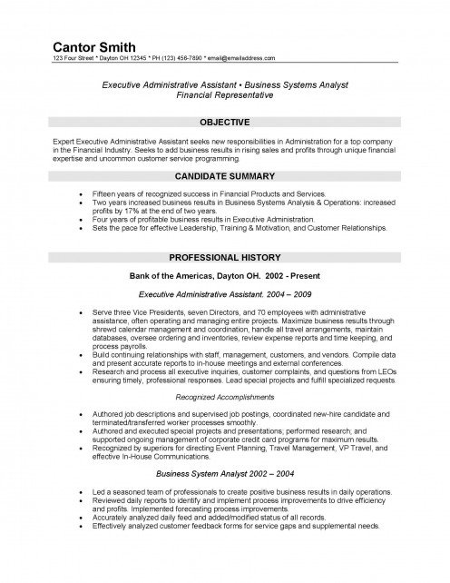 a combination resume may also be considered for this amount of experience but works well for workers with 20 and more ears of experience - Junior Financial Analyst Resume