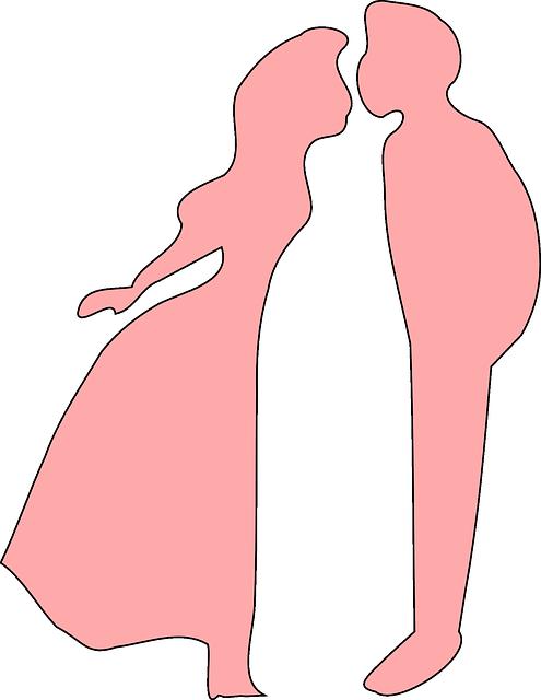 Profile makes the date. (public domain)