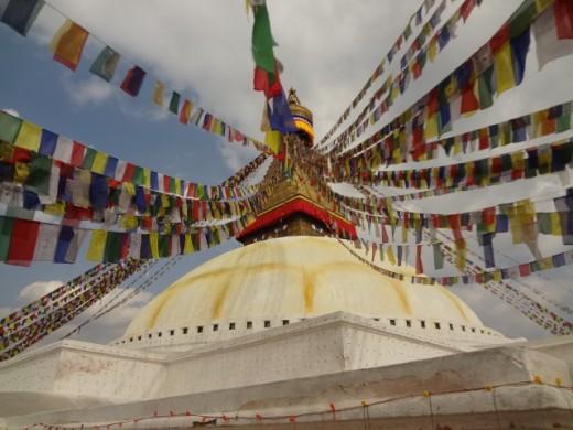 The Buddhist Stupa of Boudhanath, Kathmandu