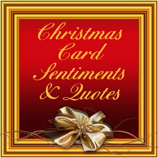 Christmas Quotes For Cards: Short Christmas Quotes And Sayings For Cards