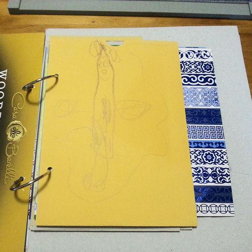 Decorated Envelope Pocket!