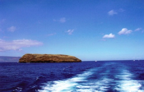 Leaving Molokini