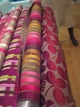 Upholstery Materials (Photo courtesy by praguelondon from Flickr)