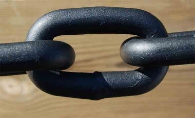 The Only Weak Link Is The One You Allow In Your Life