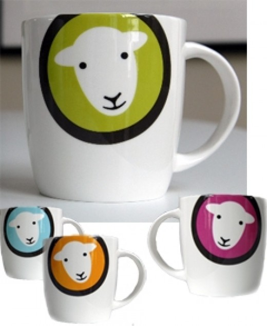 Herdy the herdwick cute mug