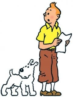 Tintin-and Snowy