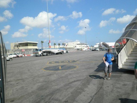 My arrival at Malta International Airport