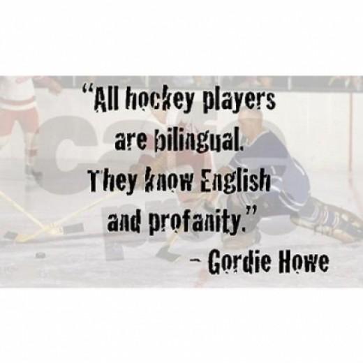 Hockey Language
