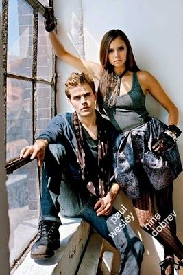 Paul Wesley & Nina Dobrev Nylon Photoshoot