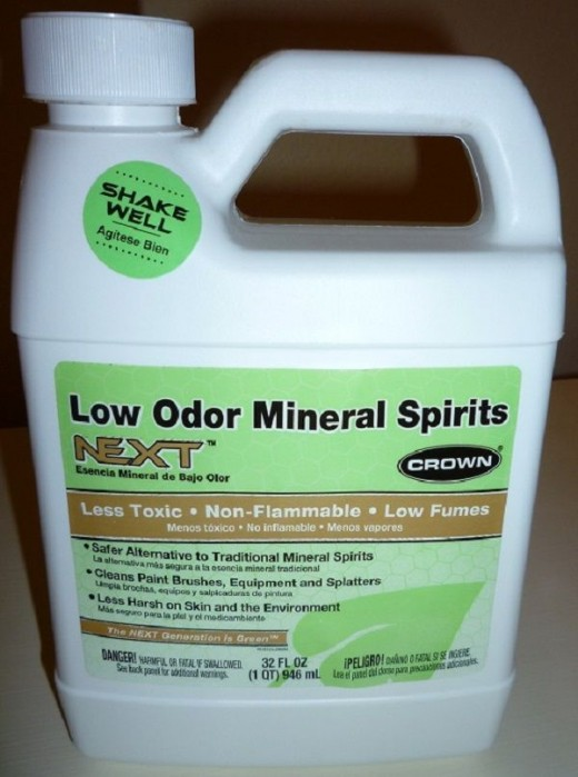 I added an equal part of odorless or low-odor mineral spirits