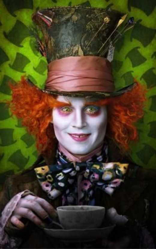 Mad Hatter from Tim Burton's Alice in Wonderland