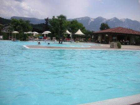 Pool and rocks in splendid contrast