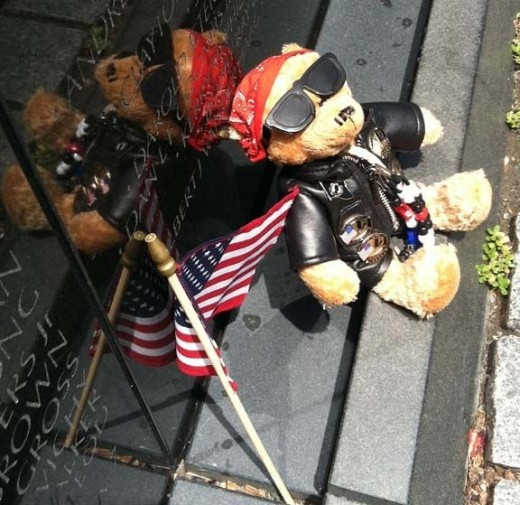 Vietnam Veterans Wall Teddy Bear