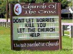 Don't You Just Love Church Signs