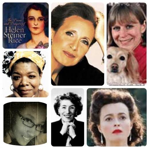 Helen, Danielle, Ann, Maya, Ladyfiddler, Enid old and Enid young